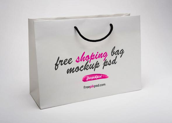 Free Paper Shopping Bag Mockup Psd On Behance