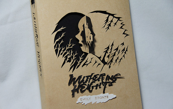 Wuthering Heights - Book Cover Design on Behance