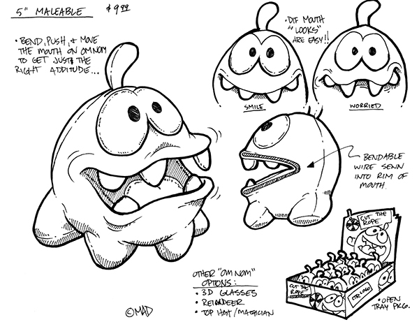 Cut The Rope Master Toy License on Behance