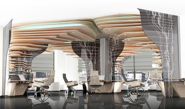Design  creative advertising office on Behance