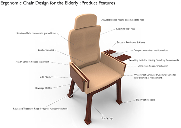 chairs for seniors desk chair cushion staples ergonomic design elderly on behance save to collection