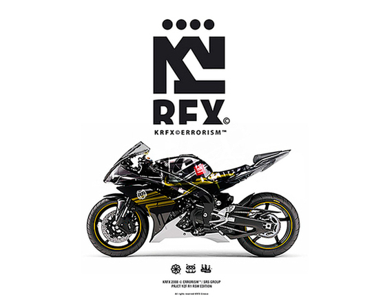 KRFX © Errorism on Behance