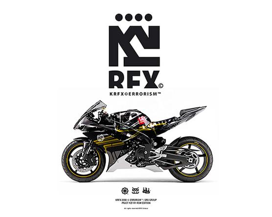KRFX © Errorism on Behance