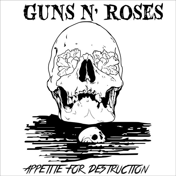 Guns N' Roses CD Cover on Behance