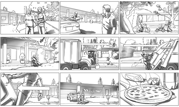 Commercial Storyboard Samples On Behance