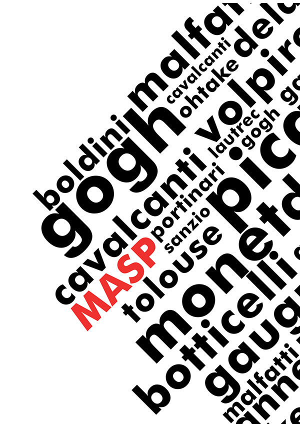 Manual de Identidade Visual MASP on Behance