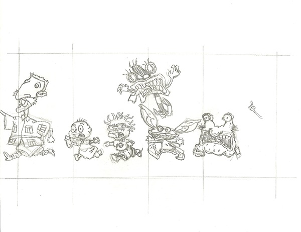 Artist Series Crayon Box Design