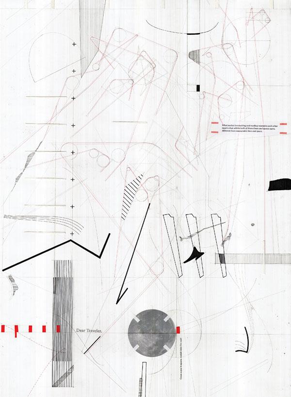 Computing Drawing: Corner Border Toll Plaza on RISD Portfolios