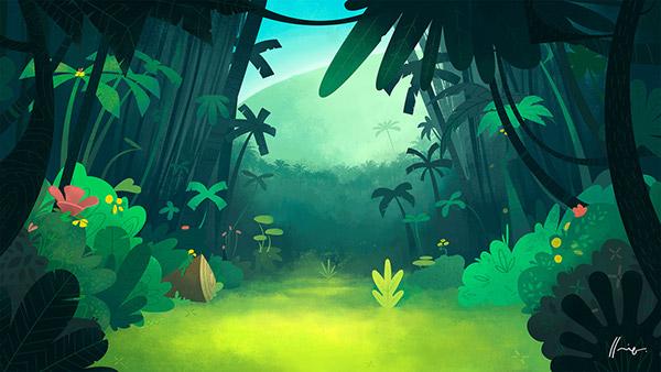 Gravity Falls Wallpaper Forest Harrdy Animated Short On Behance