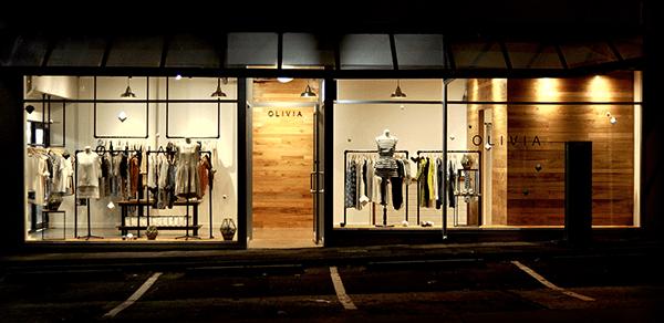 Olivia, fashion retail interior/ window display on Behance