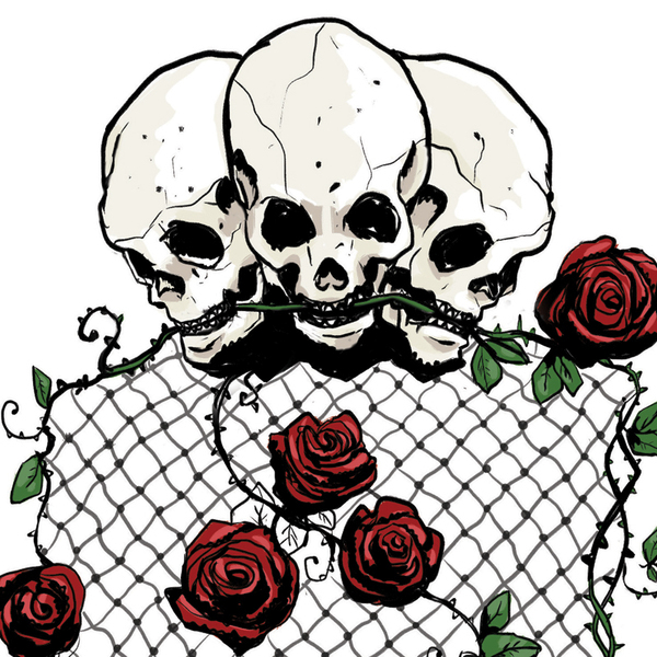 Skulls Roses Tattoo Design On Behance