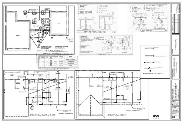 Mechanical-Structural Drawings for the Technical World on