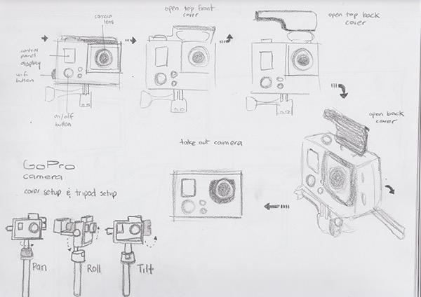 Sketch: GoPro Study on Behance