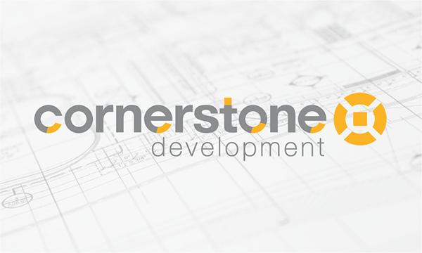 Cornerstone Development Business Card Design on Behance