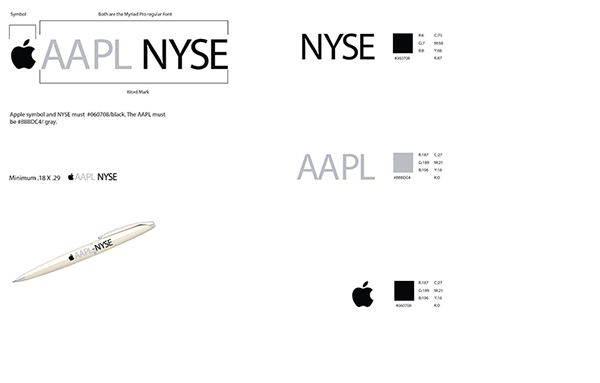 Apple Brand Identity Guide on Behance