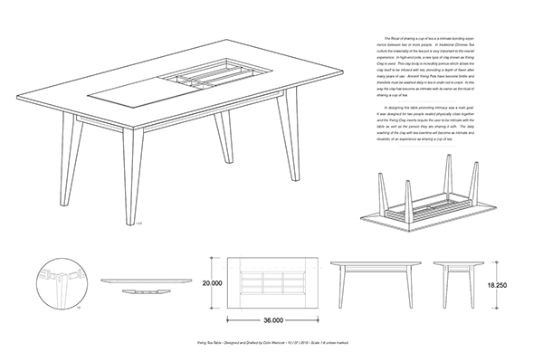 A Table to Promote Intimacy. on Behance