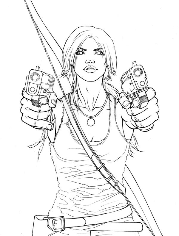2 Tomb Raider Reborn Art Contest Entries on Behance