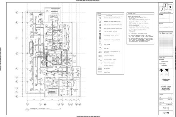 Mechanical, Electrical, Plumbing Layout on Behance