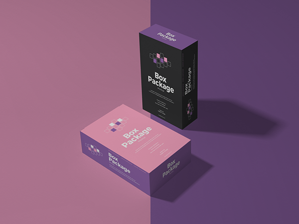 Download Free Box Package Mockup on Behance
