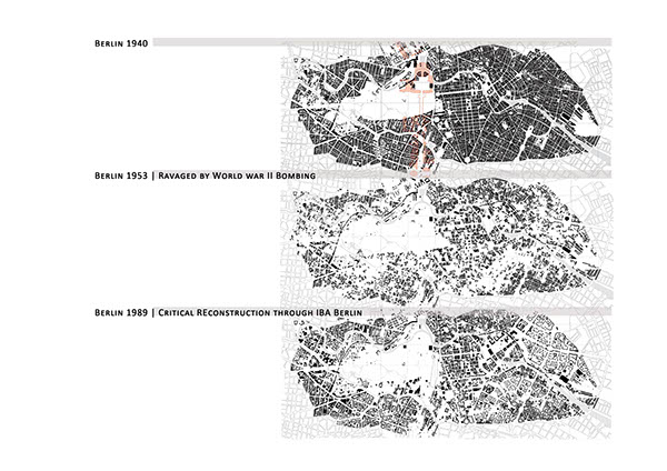 Paper on IBA Berlin, Critical Reconstruction on Behance