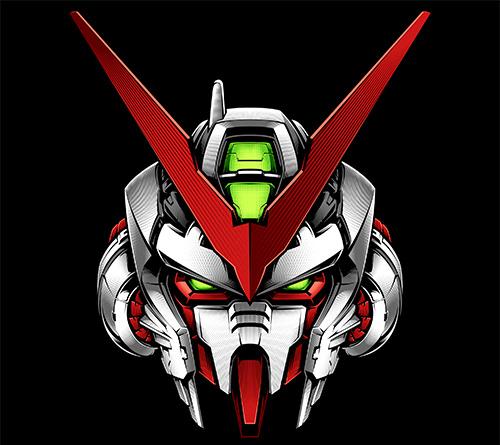 Voltes V Wallpaper Hd Gundam Astray Red Frame On Behance