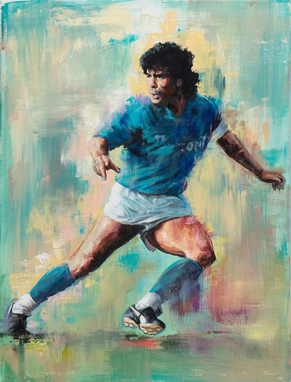 Sports Art Acrylic Paintings. on Behance