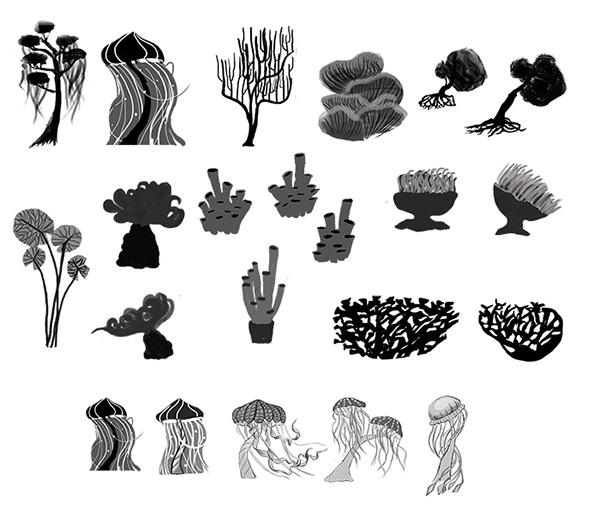 plants concept on Behance