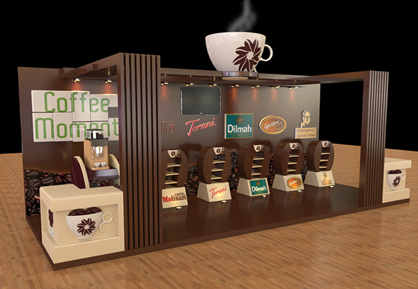 Coffee Moments  Booth on Behance