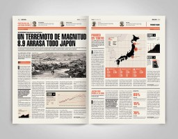 Newspaper Design 01 on Behance