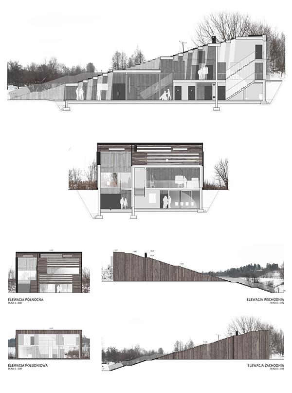 Artist's House on Behance
