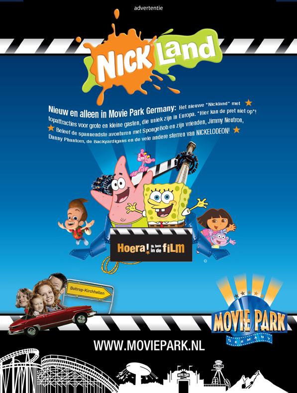 Movie Park Germany Nickelodeon : movie, germany, nickelodeon, MoviePark, Germany, Print, (2006), Behance