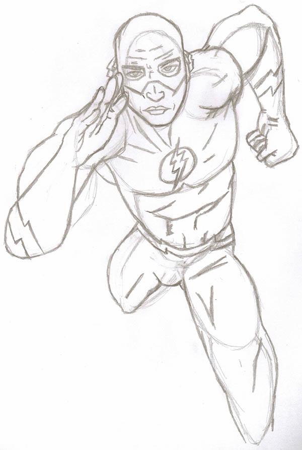 DC Comics Drawings on Behance