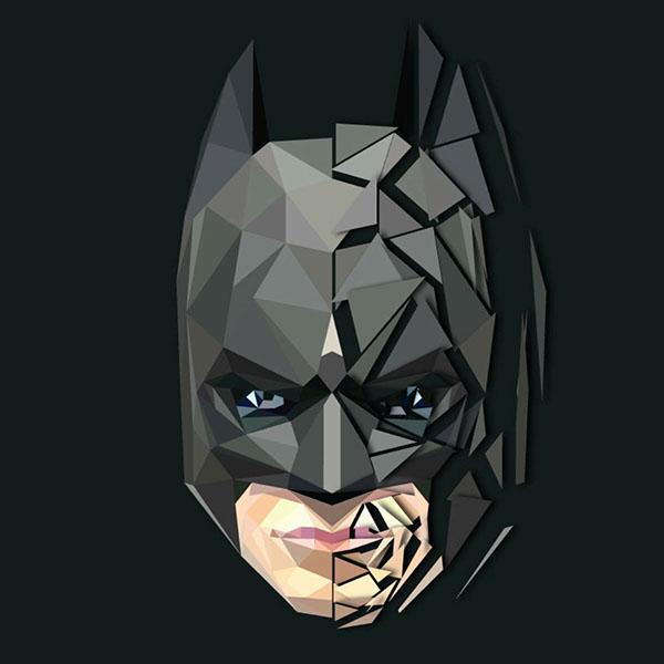 batman vector on behance