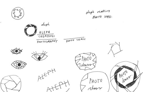 Aleph Creatives Photo Class Logo on Behance