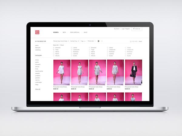 Online Store 線上購物平臺 | SHIATZY CHEN 夏姿.陳 on Behance