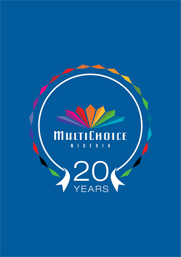 multichoice 20th anniversary logo