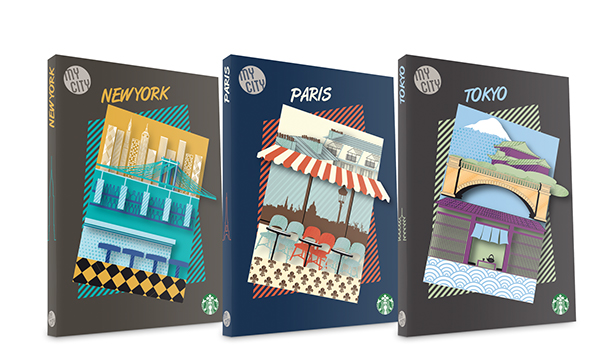 Travel guide cover designs on Behance
