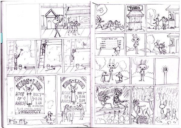 English Idiom Comic Strips on Student Show