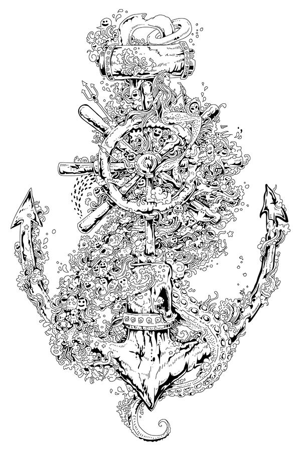 Anchor by Kerby Rosanes on Wacom Gallery