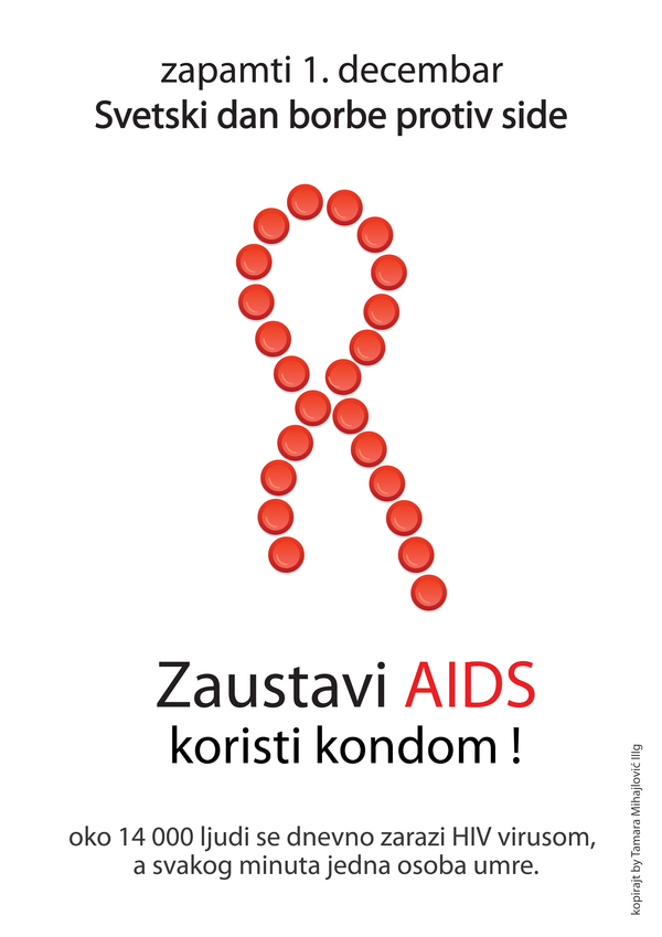 Anti-AIDS posters on Behance