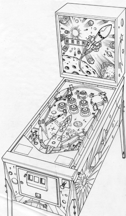 Pinball Machine Artwork on Behance