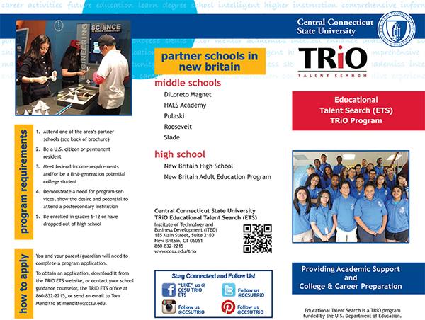 TRiO Talent Search / CCSU on Behance