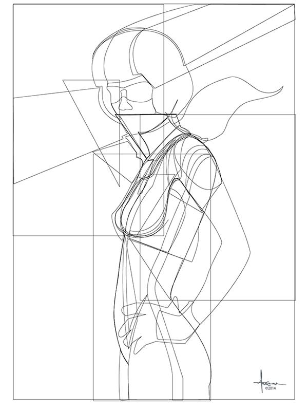 2014 Vector Sketches & Unpublished Works on Behance