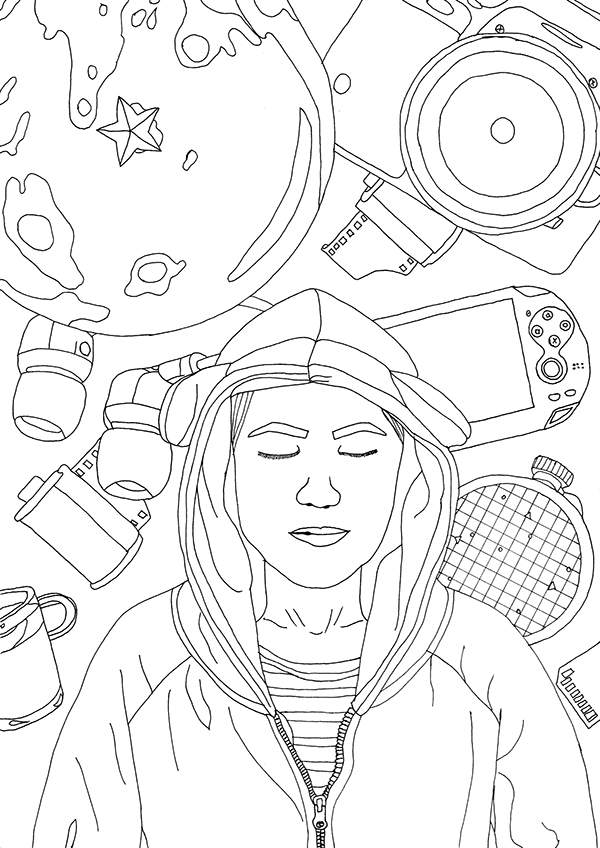 My world my addictions_ illustration on Behance