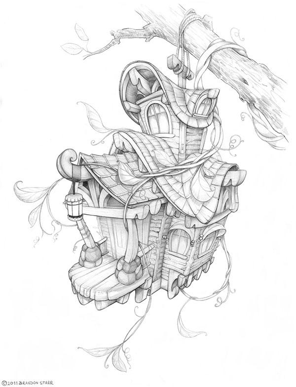 Fairy Tale Illustrations on Behance
