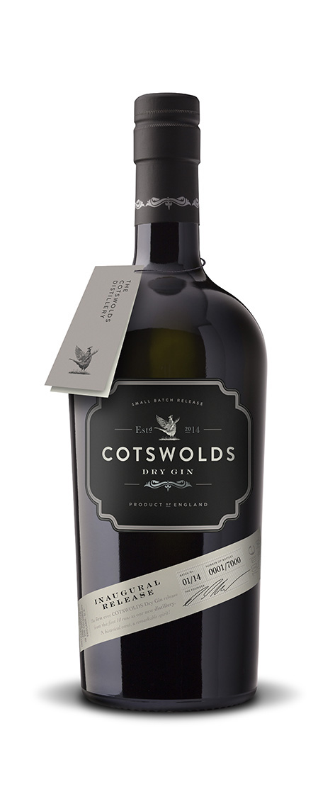 Cotswolds Distillery Inaugural Release Dry Gin on Behance