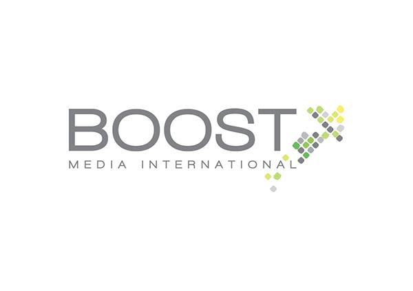 Boost Media International Logo on Behance