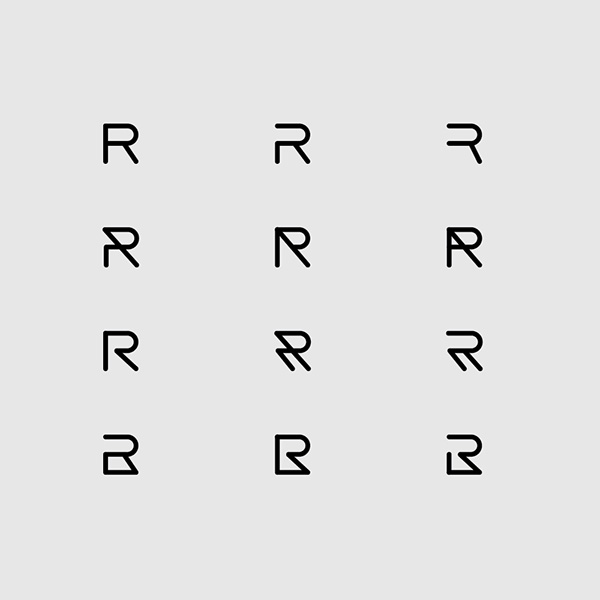 Letter R In Different Fonts