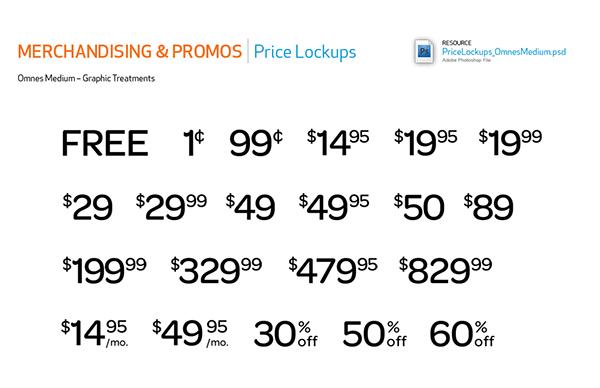 AT&T Merchandising & Promotions Design Fieldguide on Behance
