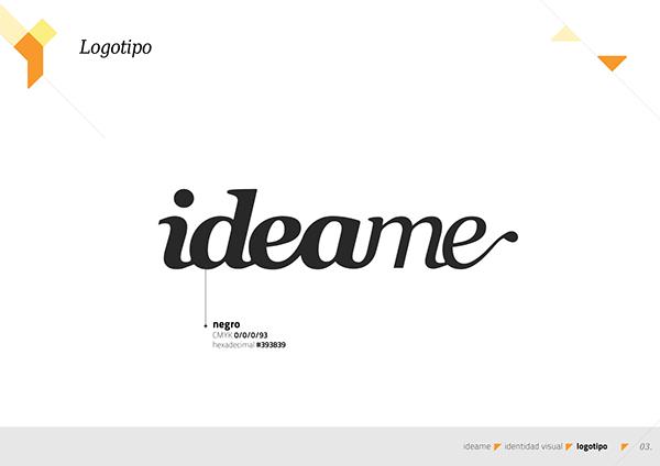 Manual Marca Idea.me on Behance
